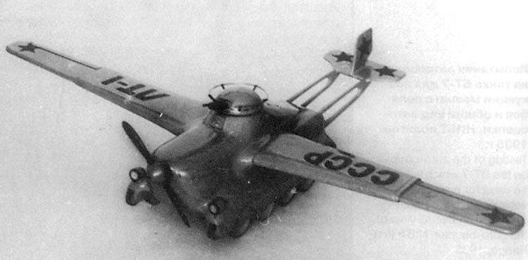 Projets de chars volants des années 1930 et 40 70441710