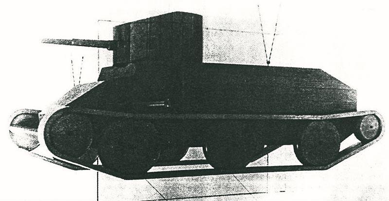Projets de chars volants des années 1930 et 40 Quizz113