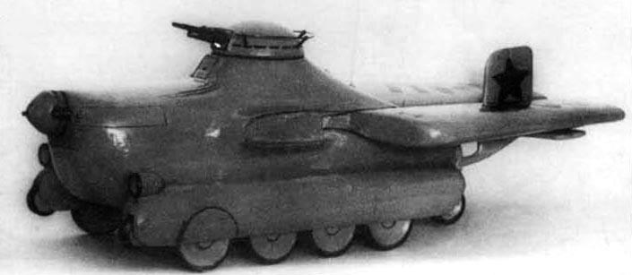 Projets de chars volants des années 1930 et 40 Sma-1a10