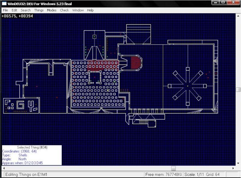 Construction de niveau Doom et Doom 2 Doom10