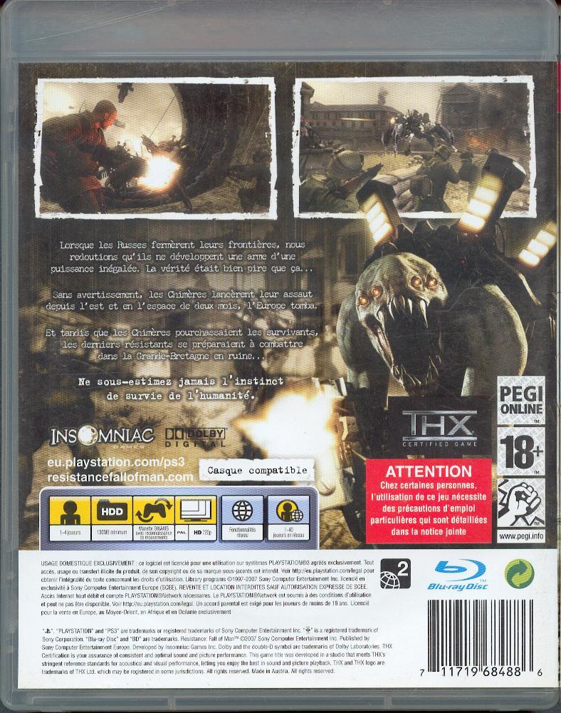 Les jeux PS3 à Korok. Resist11