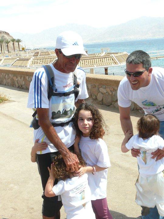 BONNE CHANCE YAIR ISRAEL NOTRE CHAMPION DE COURSE A PIED D'AGADIR 12315