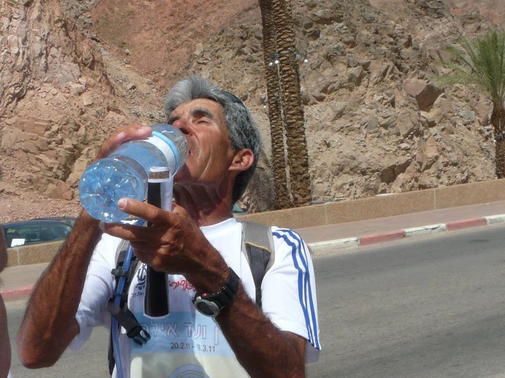 BONNE CHANCE YAIR ISRAEL NOTRE CHAMPION DE COURSE A PIED D'AGADIR 123412