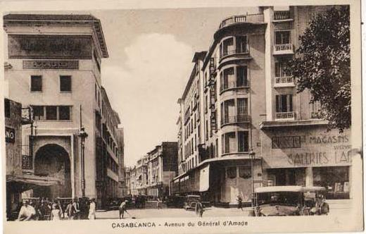 CARTES POSTALES ANCIENNES DE CASABLANCA collection Soly Anidjar 2610