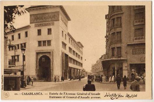CARTES POSTALES ANCIENNES DE CASABLANCA collection Soly Anidjar 3110