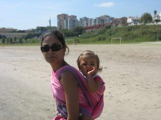 Nuestros hijos en portabebés Olivia11