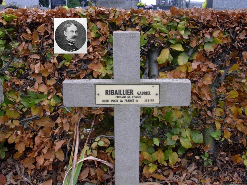 « Communal cemetery Douai » (Nord) Ribail12