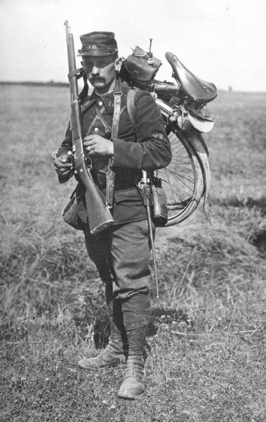 Chasseur cycliste 1914 Sapeur10