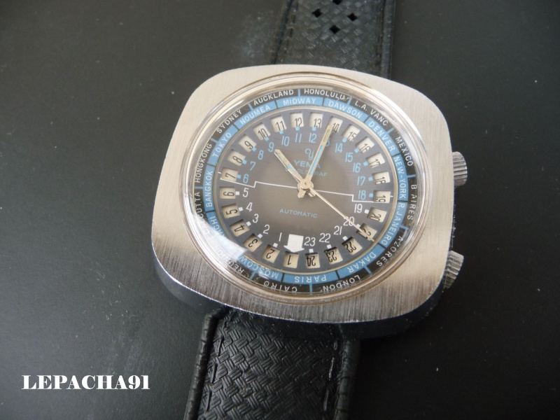 YEMA WORLGRAF Automatique - modèle 1969 - un modèle atypique 0000210