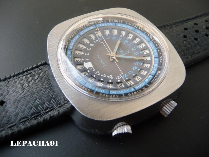 YEMA WORLGRAF Automatique - modèle 1969 - un modèle atypique 0000310