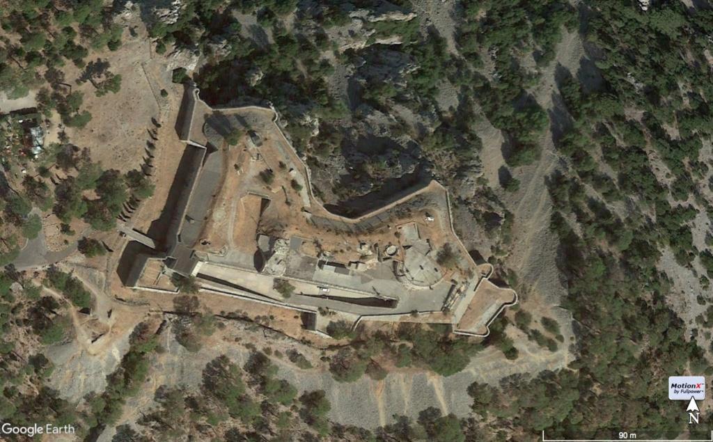 Fort et batteries de La Croix Faron Toulon (83) Tor12912