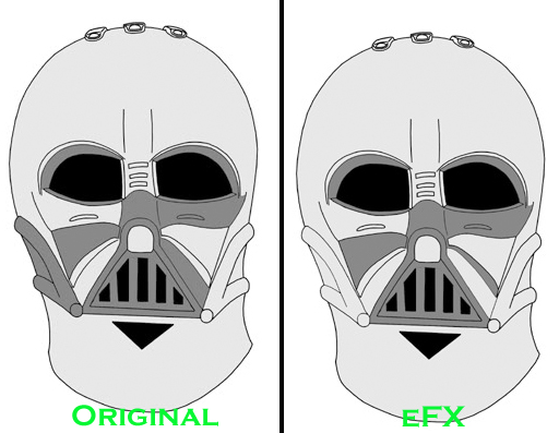 eFX - DARTH VADER HELMET LEGEND - EPISODE IV: A NEW HOPE - Page 3 Efxpai10