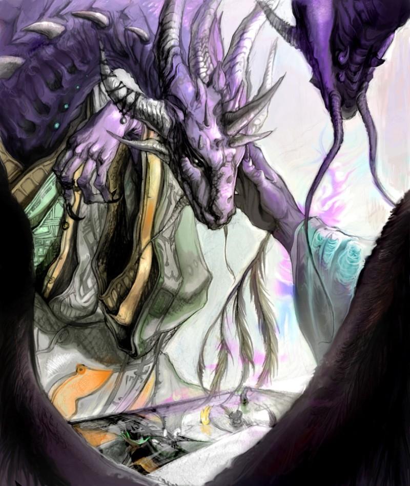 Dragons mauves Creer_10