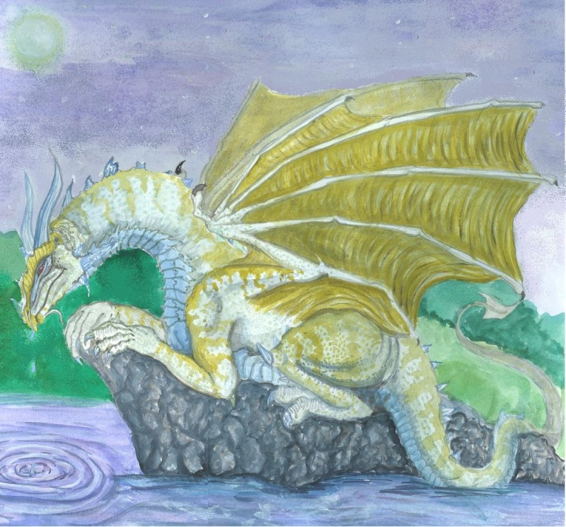 Dragons jaunes Crying10