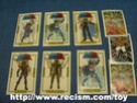 Diverses cartes, images et divers autocollants Code1610