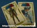 Diverses cartes, images et divers autocollants Code1611
