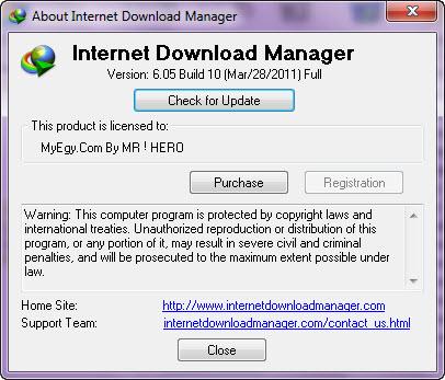 Internet Download Manager 6.05 Build 10 Final 48713210