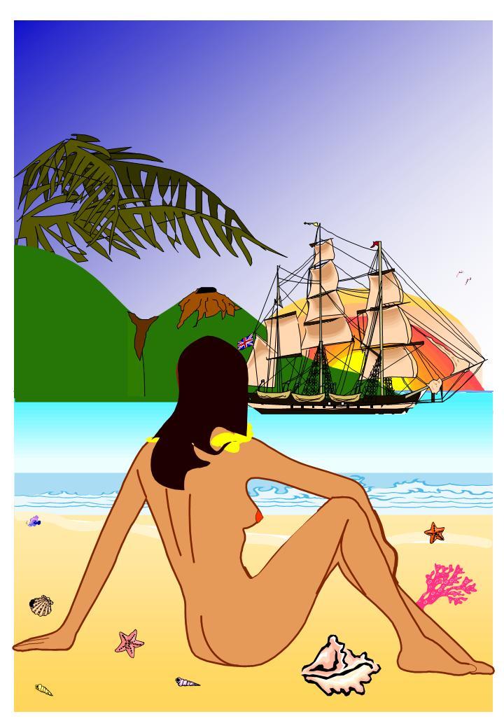 Marins montrez vos créations artistiques! - Page 5 Caraib10
