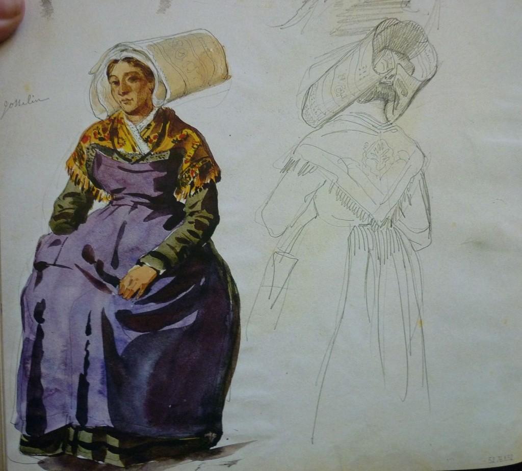 Recherche information sur costumes vannes gallo Lalais17