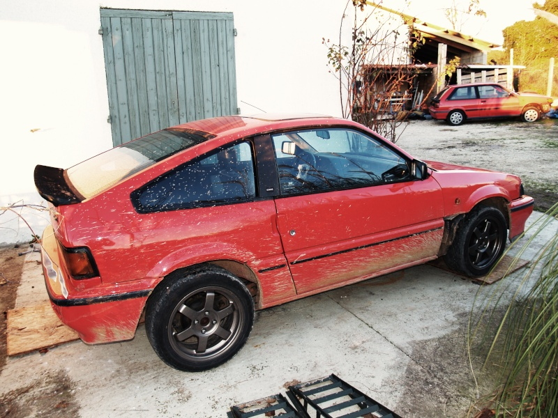 restauration honda crx as53 Pc103811
