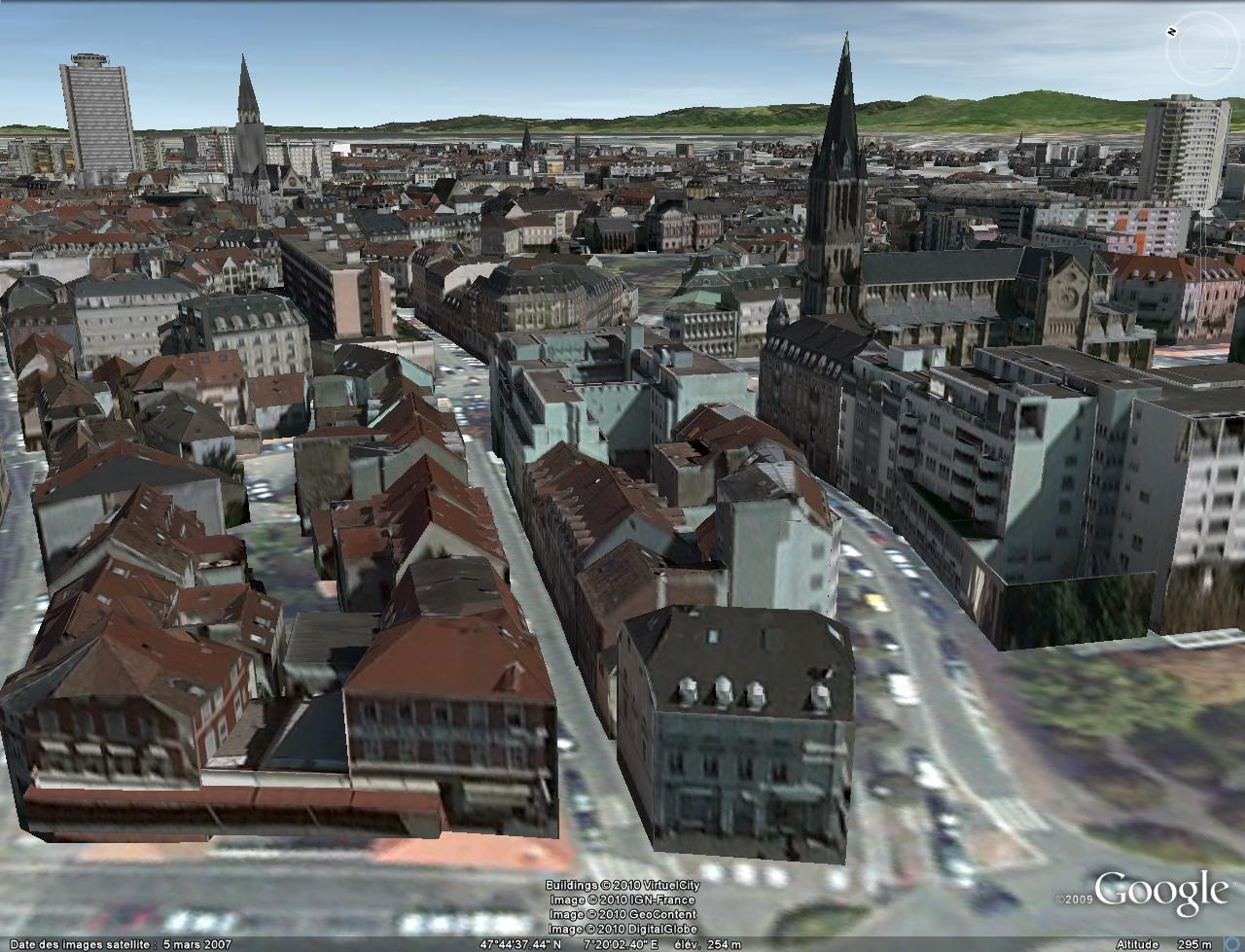 Bâtiments 3D avec textures - France [Sketchup] Mulhou10