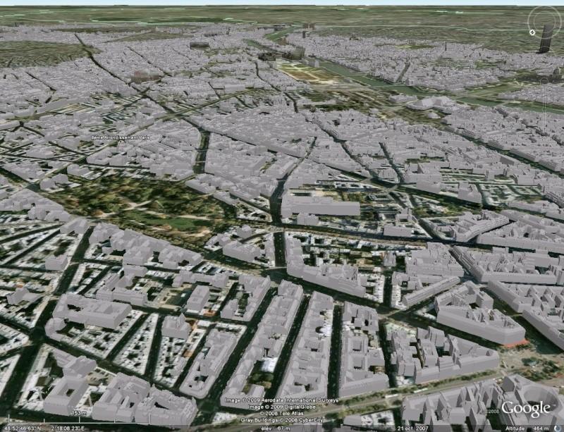 Paris - Bâtiments 3D non texturés [Sketchup] Paris_10