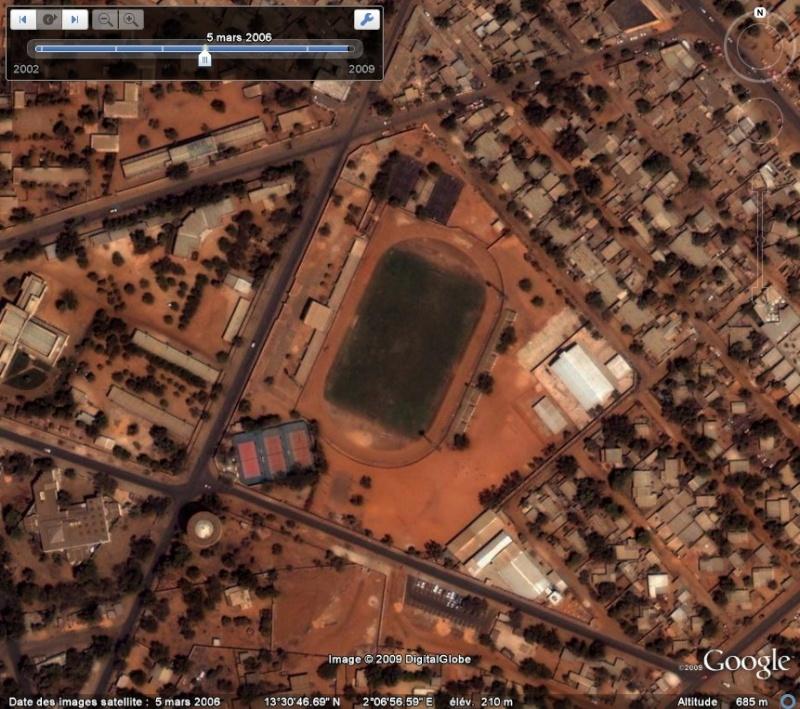 Stade municipal désaffecté de Niamey - Niger Stade_10