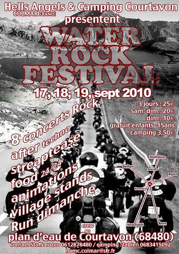 WATER ROCK  FESTIVAL Colmar 17-18-19 Sept 2010 Affich10