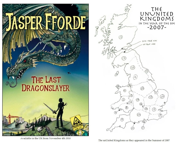The Last dragonslayer de Jasper Fforde  The_la10