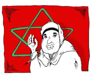 Les tribulations en BD de Mohammed VI, Roi du Maroc Jpg_de10