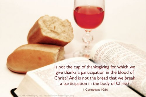 Cup of Thanksgiving 1corin10