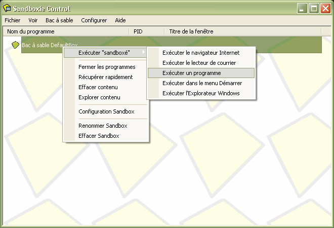[Logiciel] Sandboxie : machine virtuelle Sandbo10