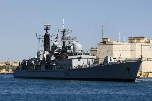 Coalition aéro maritime au large de la Libye 610x29