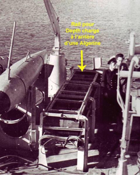 Quel était l'armement asw des Algérine ? Algeri11