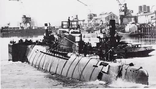 Aspects techniques des sous-marins WWII Cbda6e11