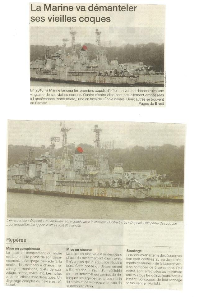 Dossier : Désarmement et déconstruction de CMT français - Page 3 Of11010