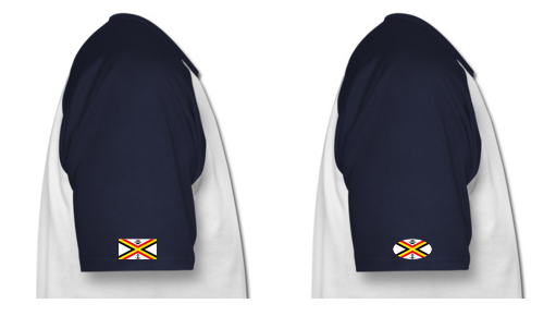 Quelle forme de logo sur la manche du t-shirt ? T-shir10