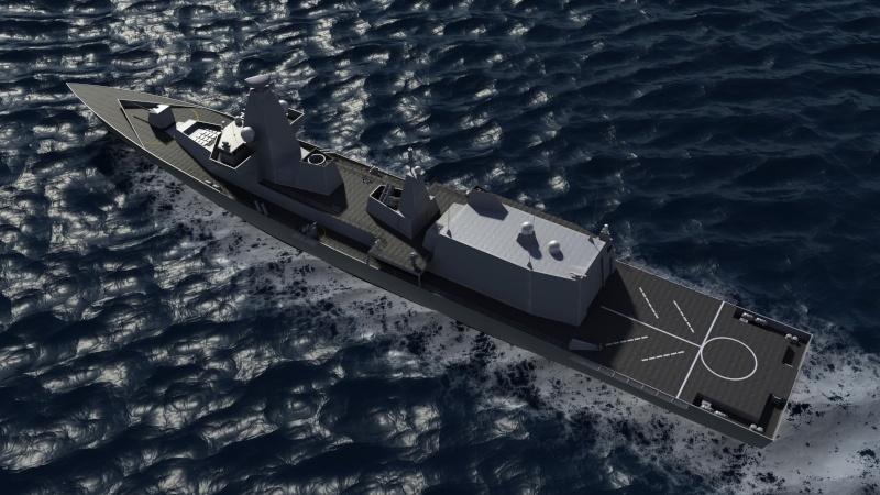 Future Type 26 & Type 31 class frigate Type2610