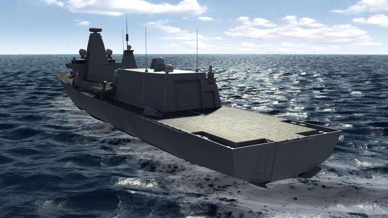 Future Type 26 & Type 31 class frigate Type2611