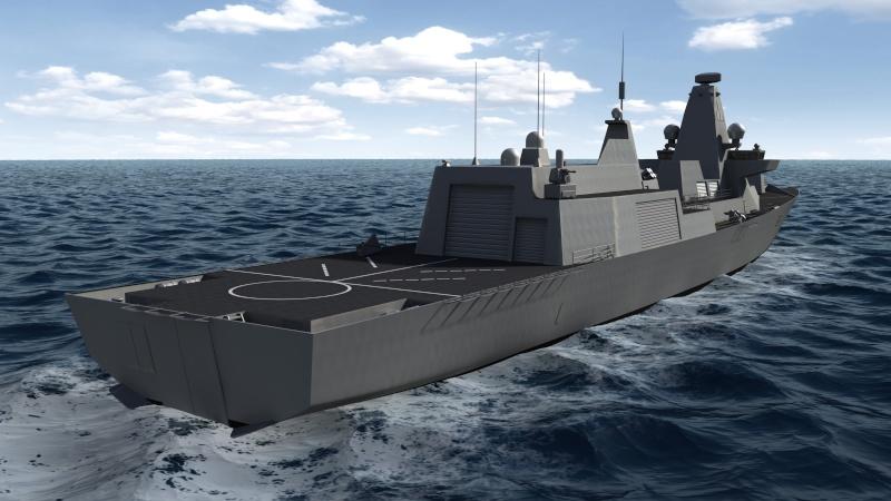 Future Type 26 & Type 31 class frigate Type2612