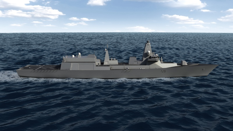 Future Type 26 & Type 31 class frigate Type2613