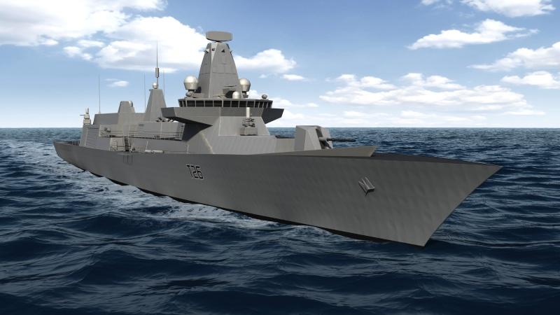 Future Type 26 & Type 31 class frigate Type2614