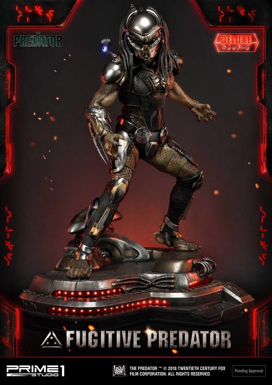 Premium Masterline The Predator (Film) Fugitive Predator Deluxe Version Pmtpr-10