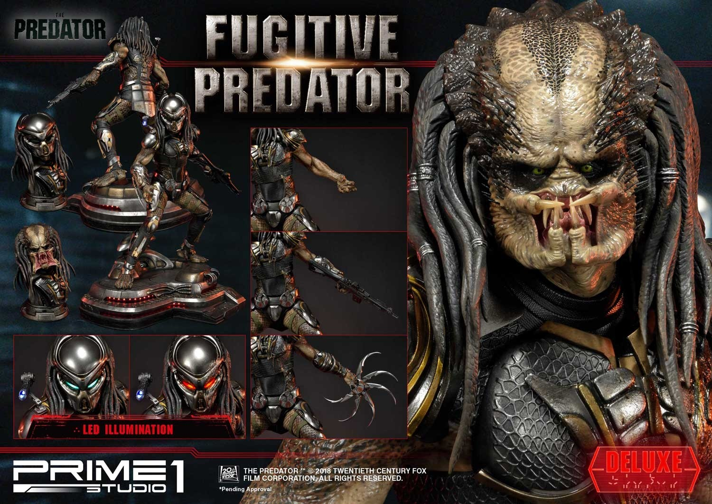 Premium Masterline The Predator (Film) Fugitive Predator Deluxe Version Pmtpr-12