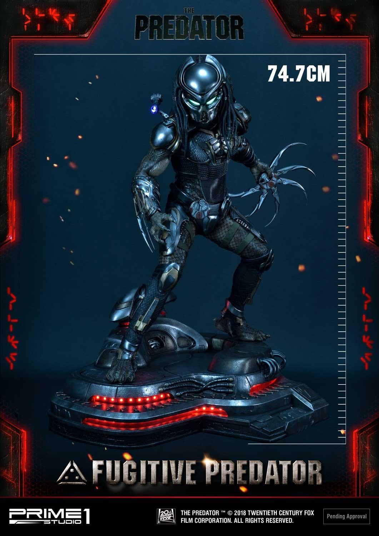 Premium Masterline The Predator (Film) Fugitive Predator Deluxe Version Pmtpr-13