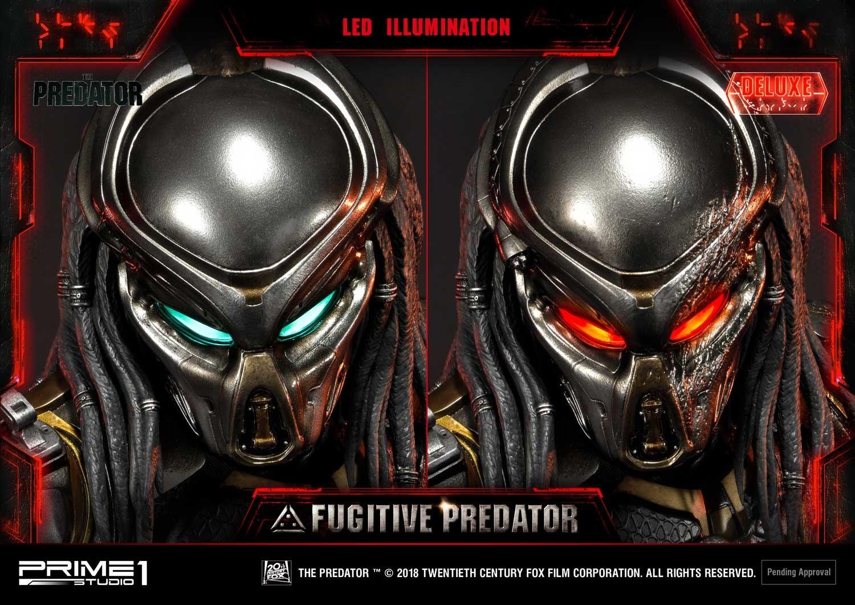 Premium Masterline The Predator (Film) Fugitive Predator Deluxe Version Pmtpr-14