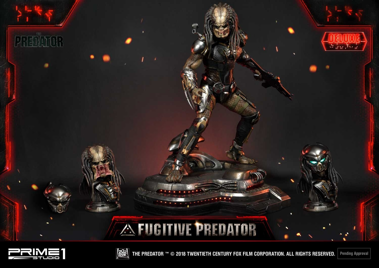 Premium Masterline The Predator (Film) Fugitive Predator Deluxe Version Pmtpr-16