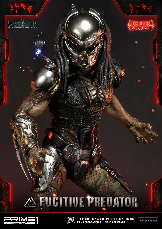 Premium Masterline The Predator (Film) Fugitive Predator Deluxe Version Pmtpr-17