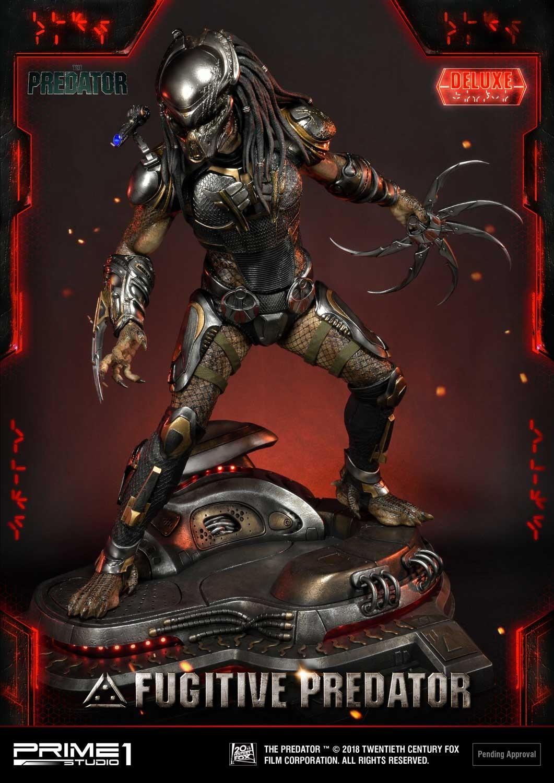 Premium Masterline The Predator (Film) Fugitive Predator Deluxe Version Pmtpr-20