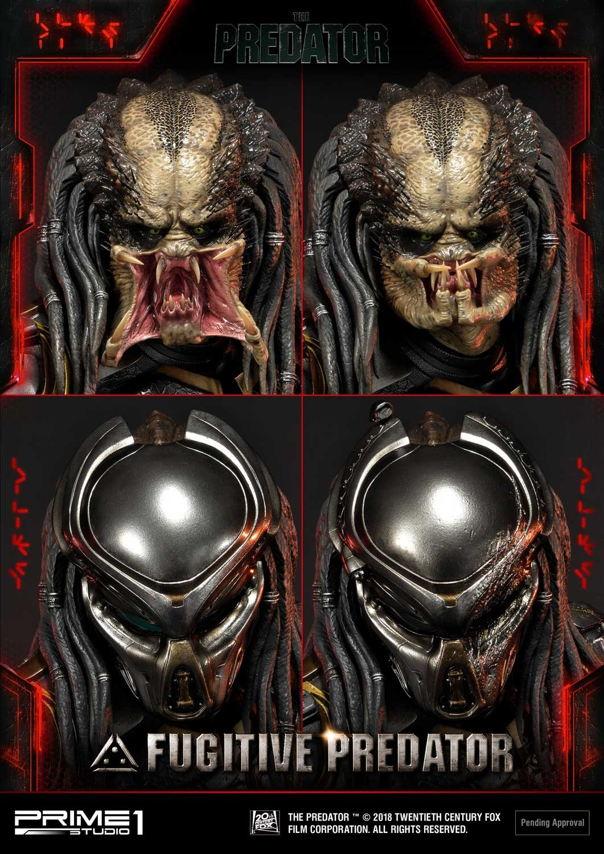 Premium Masterline The Predator (Film) Fugitive Predator Deluxe Version Pmtpr-21